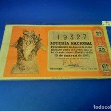Lotería Nacional: LOTERIA 1961 SORTEO 8. Lote 255484500