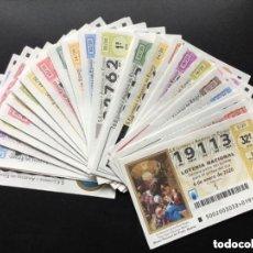 Lotería Nacional: LOTERIA NACIONAL 2020 SORTEO SÁBADOS COMPLETO - TODOS LOS SORTEOS EMITIDOS. Lote 257379020