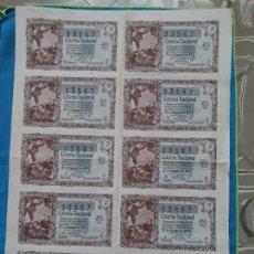 Lotería Nacional: LOTERÍA NACIONAL SORTEO 22 DE DICIEMBRE 1955 -N.33567 4 SERIE COMPLETA. Lote 258791285