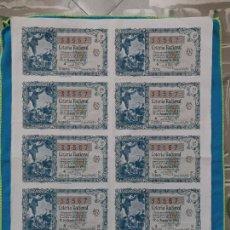 Lotería Nacional: LOTERÍA NACIONAL SORTEO 22 DE DICIEMBRE 1955 -N.33567 5 SERIE COMPLETA. Lote 258791450