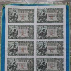 Lotería Nacional: LOTERÍA NACIONAL SORTEO 22 DE DICIEMBRE 1956 -N.39946 5 SERIE COMPLETA. Lote 258791690