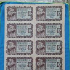 Lotería Nacional: LOTERÍA NACIONAL SORTEO 5 DE ENERO 1956 -N.28142 4 SERIE COMPLETA. Lote 258792455