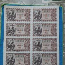 Lotería Nacional: LOTERÍA NACIONAL SORTEO 22 DE DICIEMBRE 1956 -N.39946 6 SERIE COMPLETA. Lote 258792650
