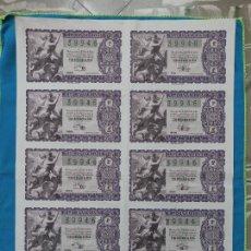 Lotería Nacional: LOTERÍA NACIONAL SORTEO 22 DE DICIEMBRE 1956 -N.39946 4 SERIE COMPLETA. Lote 258792730