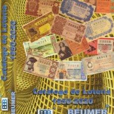 Lotería Nacional: CATÁLOGO DE LOTERIA EDITORIAL BBB* BEUMER* EDICIÓN 2021. A TODO COLOR. ACTUALIZABLE. A5.ANILLAS.. Lote 259865005