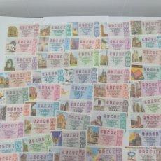Lotería Nacional: LOTERIA NACIONAL DEL AÑO 1990 - AÑO COMPLETO - 51 DECIMOS. Lote 261843785