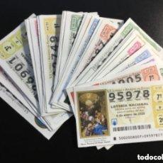 Lotería Nacional: LOTERIA NACIONAL 2020 SORTEO SÁBADOS COMPLETO - TODOS LOS SORTEOS. Lote 261858005