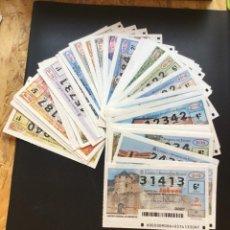 Lotería Nacional: LOTERIA NACIONAL 2010 SORTEO JUEVES COMPLETO - TODOS LOS SORTEOS. Lote 261858305