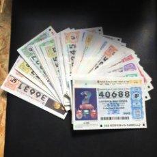 Lotería Nacional: LOTERIA NACIONAL 2000 SORTEO SÁBADOS COMPLETO - TODOS LOS SORTEOS. Lote 261859020