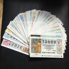 Lotería Nacional: LOTERIA NACIONAL 2001 SORTEO SÁBADOS COMPLETO - TODOS LOS SORTEOS. Lote 261859055