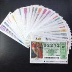 Lotería Nacional: LOTERIA NACIONAL 2005 SORTEO SÁBADOS COMPLETO - TODOS LOS SORTEOS. Lote 261859170
