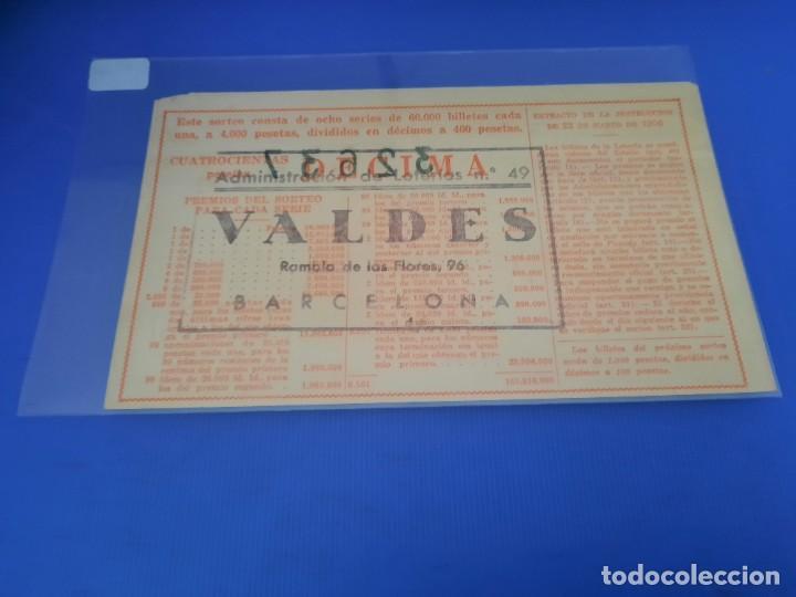 Lotería Nacional: Loteria 1961 sorteo 36 - Foto 2 - 262020885