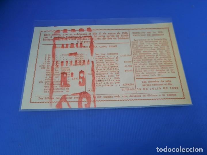 Lotería Nacional: Loteria 1966 año completo - Foto 5 - 262021815
