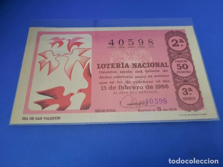 Lotería Nacional: Loteria 1966 año completo - Foto 10 - 262021815