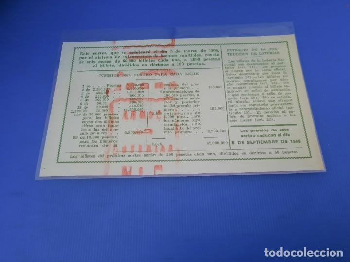 Lotería Nacional: Loteria 1966 año completo - Foto 15 - 262021815