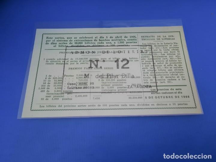 Lotería Nacional: Loteria 1966 año completo - Foto 21 - 262021815