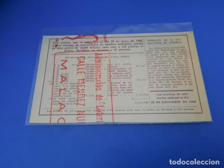Lotería Nacional: Loteria 1966 año completo - Foto 31 - 262021815