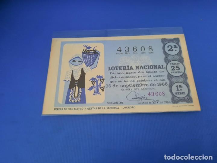Lotería Nacional: Loteria 1966 año completo - Foto 53 - 262021815