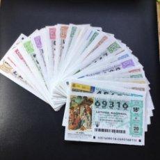 Lotería Nacional: LOTERIA NACIONAL 2016 SORTEO SÁBADOS COMPLETO - TODOS LOS SORTEOS. Lote 262023070