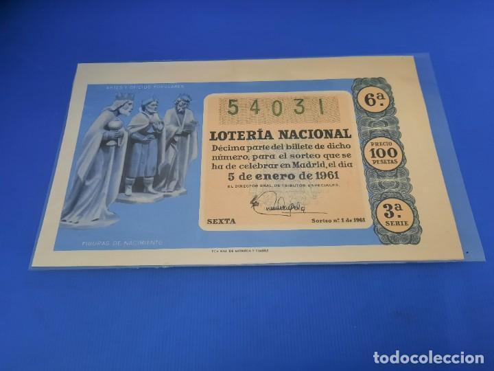 Lotería Nacional: Loteria 1961 año completo - Foto 2 - 262023165