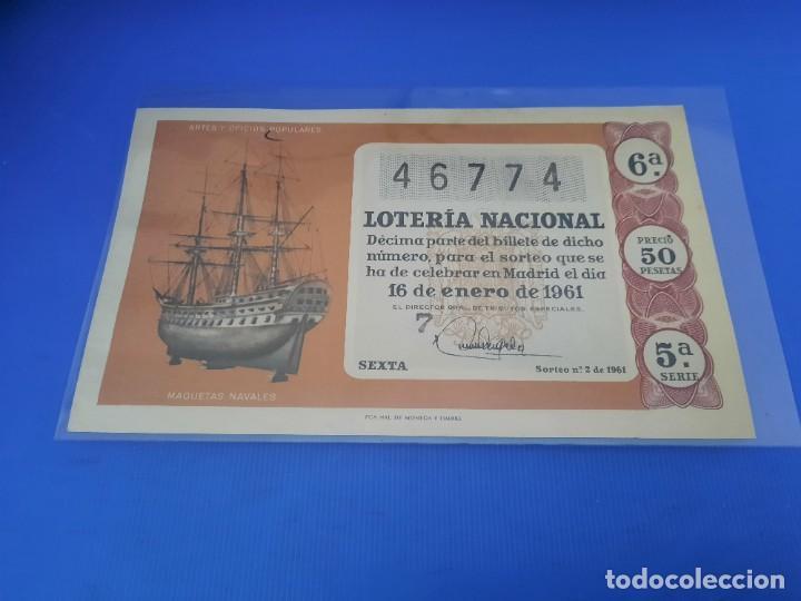 Lotería Nacional: Loteria 1961 año completo - Foto 4 - 262023165