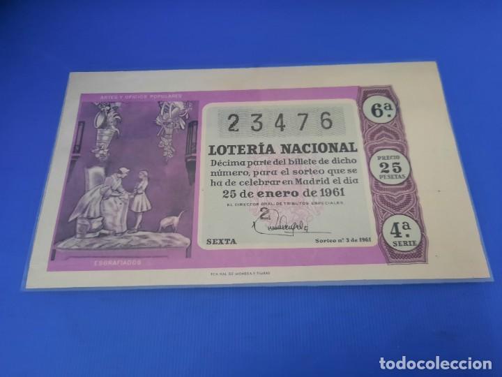 Lotería Nacional: Loteria 1961 año completo - Foto 6 - 262023165