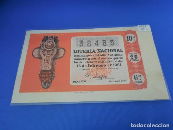 Lotería Nacional: Loteria 1961 año completo - Foto 10 - 262023165