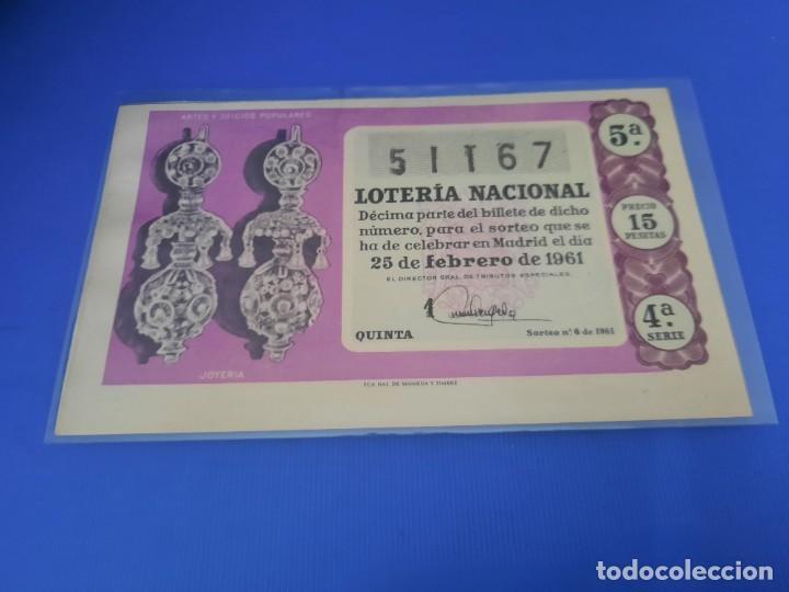 Lotería Nacional: Loteria 1961 año completo - Foto 12 - 262023165