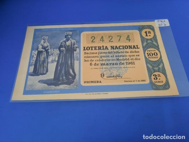 Lotería Nacional: Loteria 1961 año completo - Foto 14 - 262023165