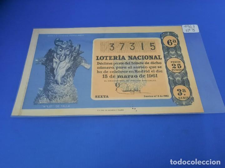 Lotería Nacional: Loteria 1961 año completo - Foto 16 - 262023165