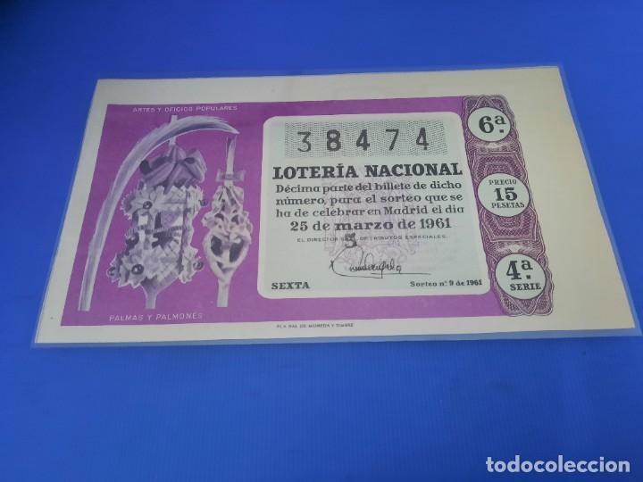 Lotería Nacional: Loteria 1961 año completo - Foto 18 - 262023165