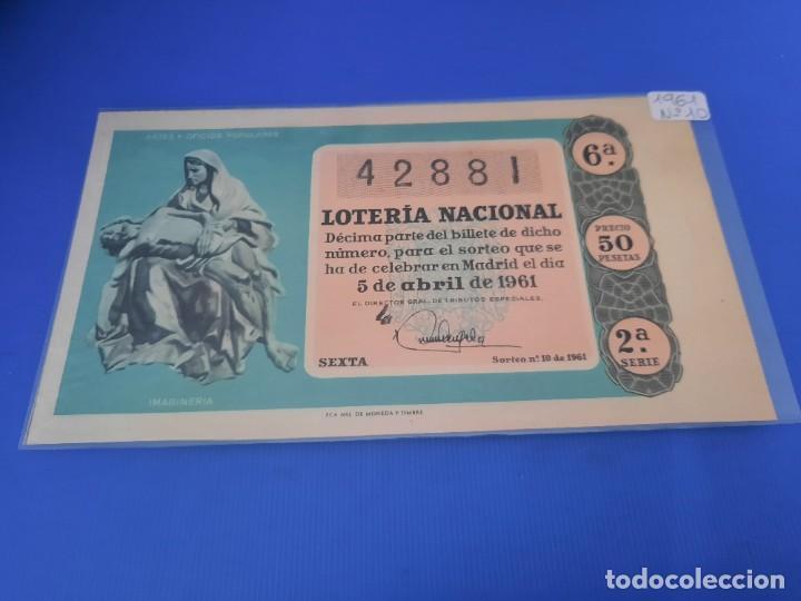 Lotería Nacional: Loteria 1961 año completo - Foto 20 - 262023165