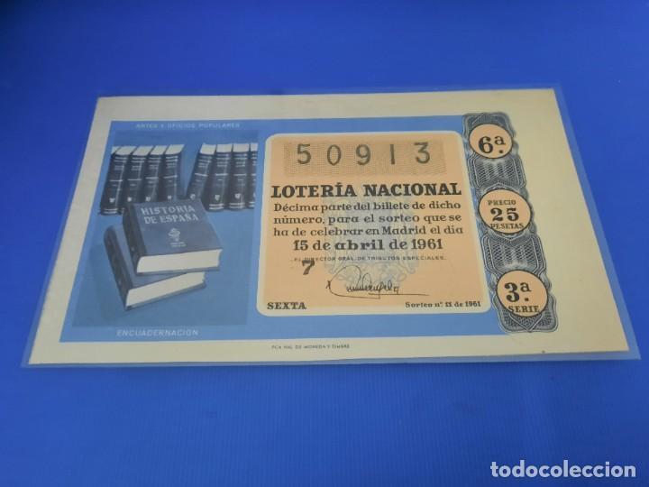 Lotería Nacional: Loteria 1961 año completo - Foto 22 - 262023165