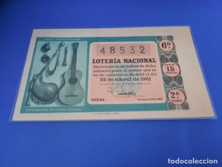 Lotería Nacional: Loteria 1961 año completo - Foto 24 - 262023165
