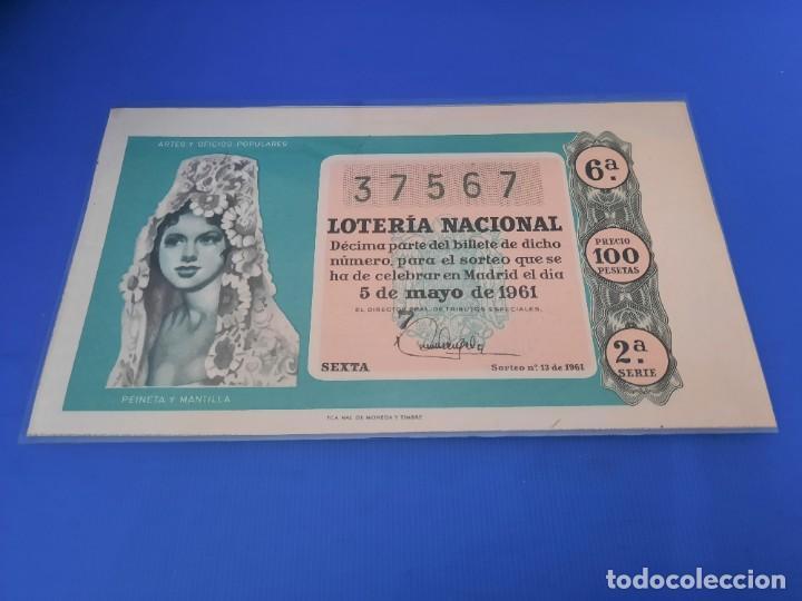 Lotería Nacional: Loteria 1961 año completo - Foto 26 - 262023165