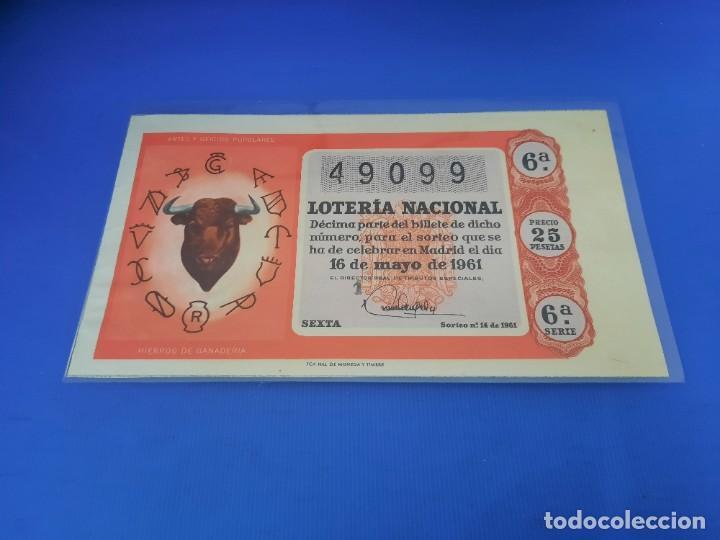 Lotería Nacional: Loteria 1961 año completo - Foto 28 - 262023165