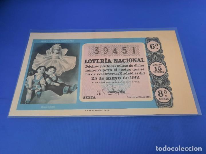Lotería Nacional: Loteria 1961 año completo - Foto 30 - 262023165