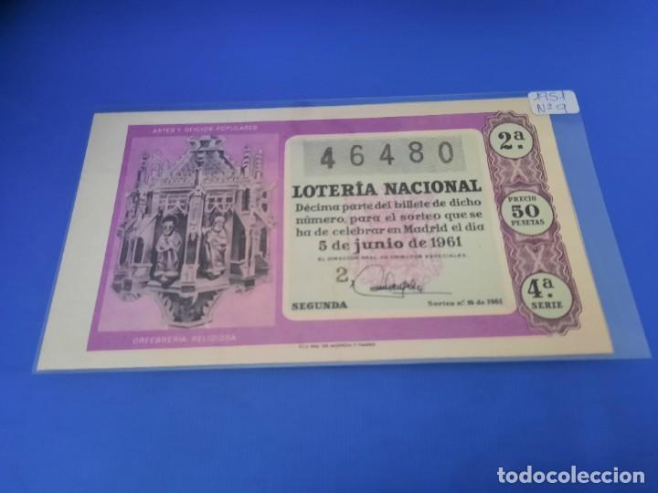 Lotería Nacional: Loteria 1961 año completo - Foto 32 - 262023165