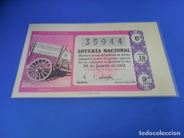Lotería Nacional: Loteria 1961 año completo - Foto 36 - 262023165