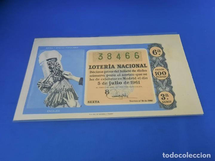 Lotería Nacional: Loteria 1961 año completo - Foto 38 - 262023165