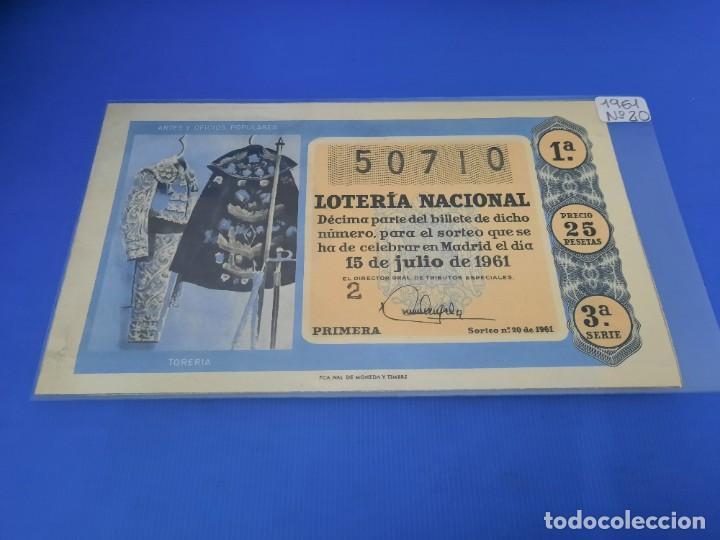 Lotería Nacional: Loteria 1961 año completo - Foto 40 - 262023165