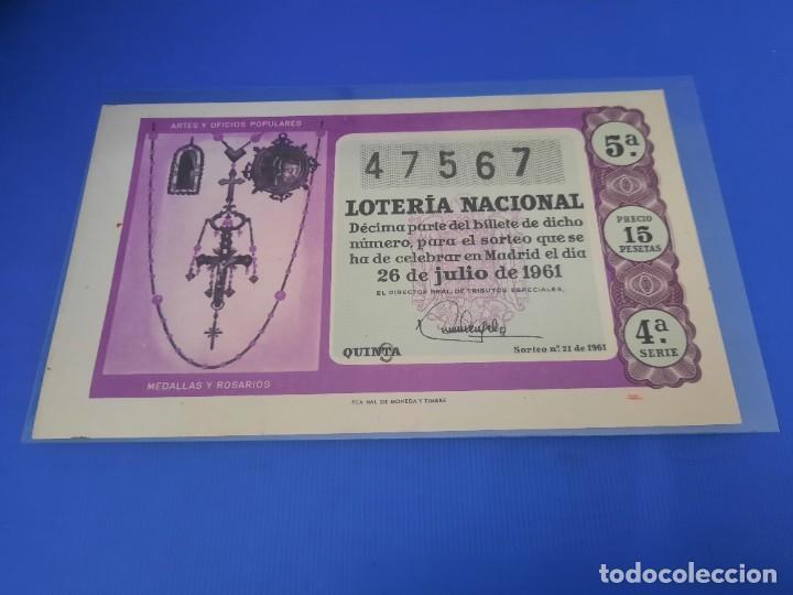 Lotería Nacional: Loteria 1961 año completo - Foto 42 - 262023165