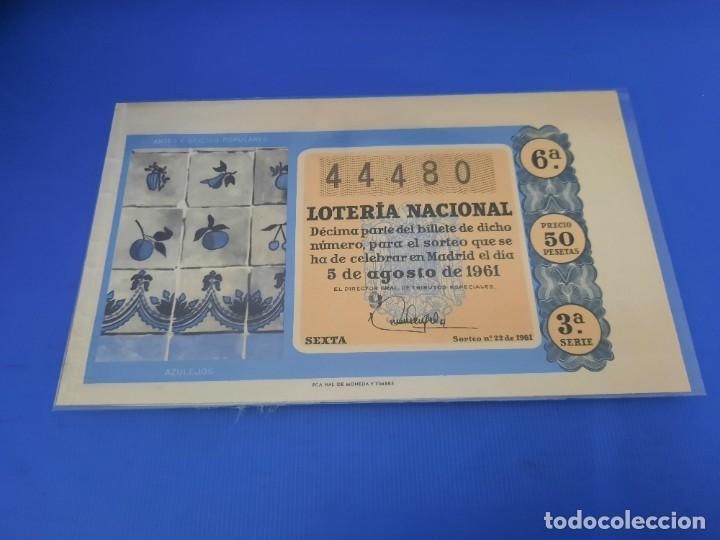 Lotería Nacional: Loteria 1961 año completo - Foto 44 - 262023165