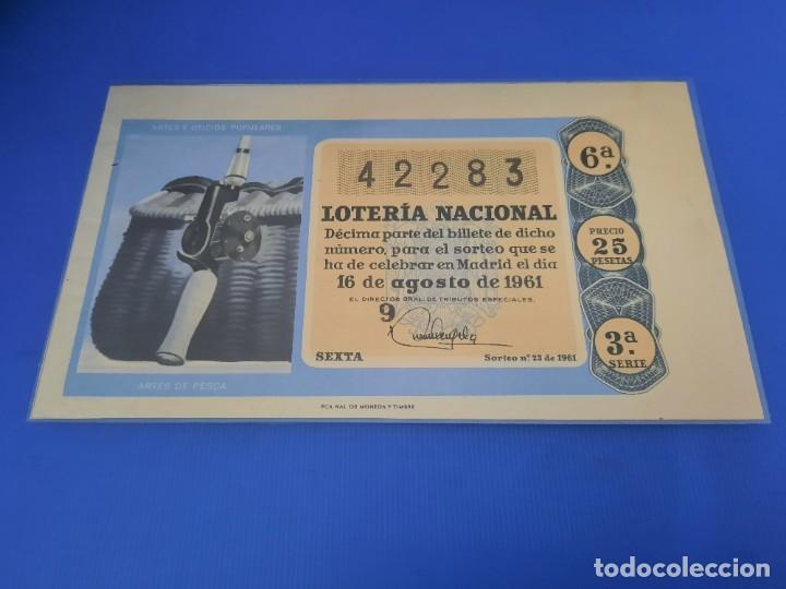 Lotería Nacional: Loteria 1961 año completo - Foto 46 - 262023165
