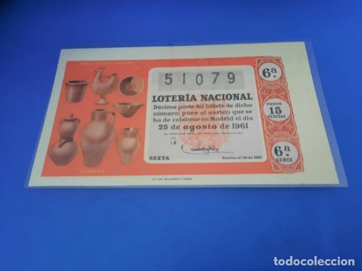 Lotería Nacional: Loteria 1961 año completo - Foto 48 - 262023165