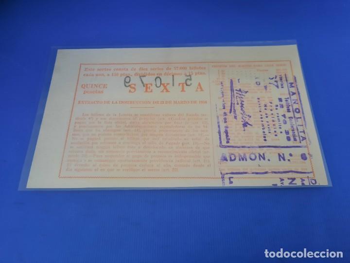Lotería Nacional: Loteria 1961 año completo - Foto 49 - 262023165