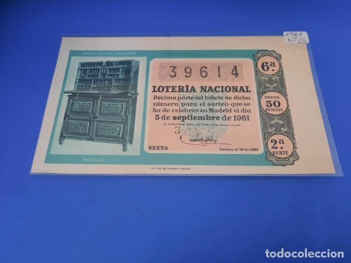 Lotería Nacional: Loteria 1961 año completo - Foto 50 - 262023165