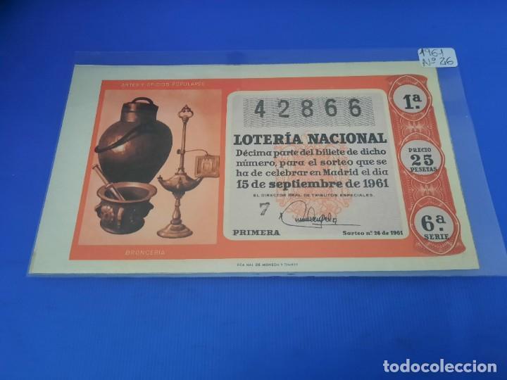 Lotería Nacional: Loteria 1961 año completo - Foto 52 - 262023165