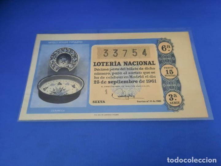 Lotería Nacional: Loteria 1961 año completo - Foto 54 - 262023165