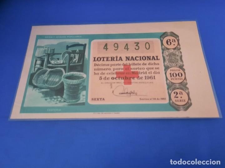 Lotería Nacional: Loteria 1961 año completo - Foto 56 - 262023165